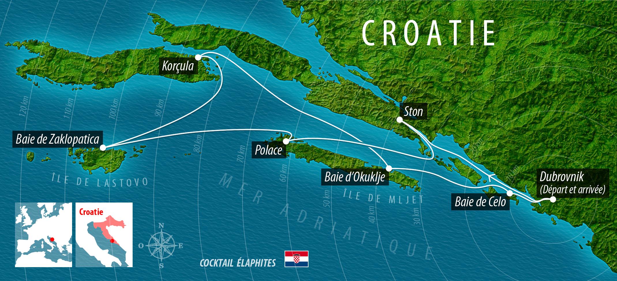 croisiere croatie